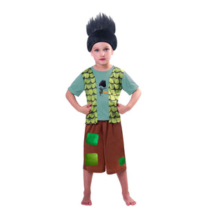 Trolls Boy Branch Costume 5-6y