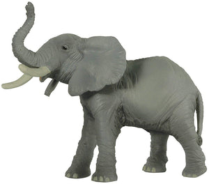 "6"" Tall Trumpeting African Elephant - Realistic Animal Replica, by Papo"
