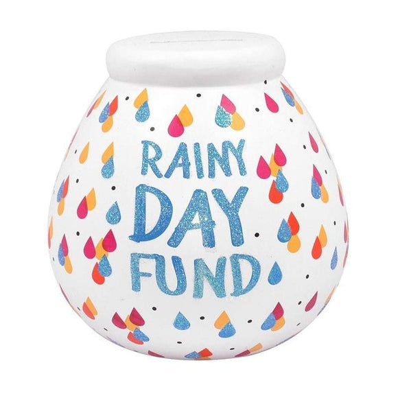 Rainy Day Fund Pots Of Dreams Money Pot Save Up & Smash Money Box Gift