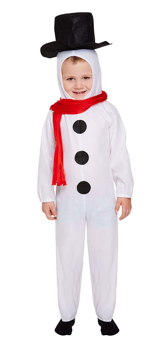 Henbrandt Little Boys' Fancy Dress Snowman White