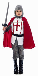 Childs Royal Knight Costume Age 10-12 Years