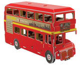 Mini 3D London Bus Build-It Puzzle (66 Pieces)