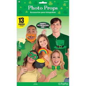 St. Patrick's Day Photo Prop Kit