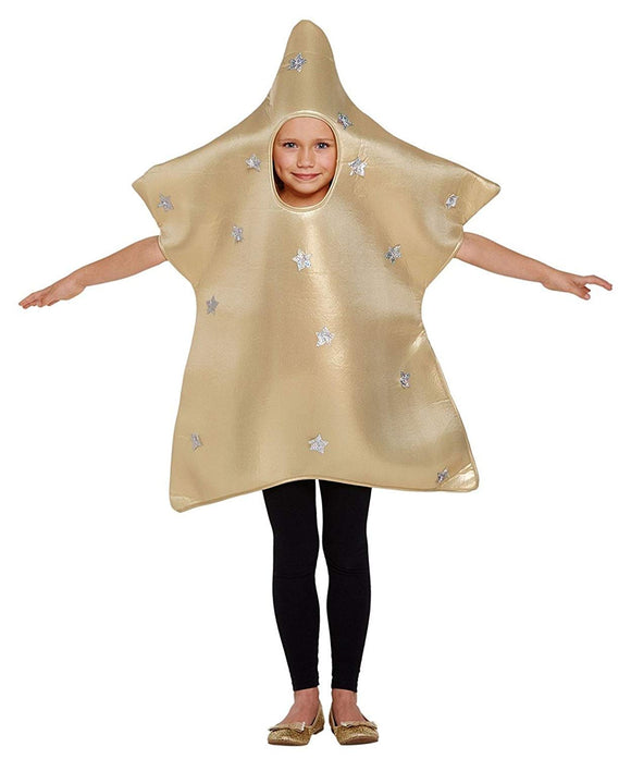 Child Christmas Nativity Star Fancy Dress Costume Age 4-6 Years