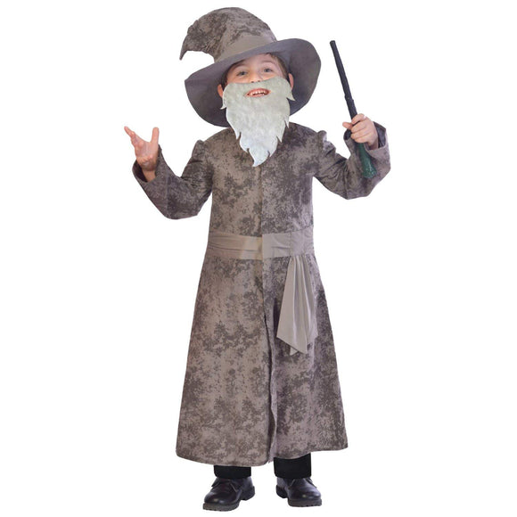 Amscan 's Wise Wizard Children's Costume -in The Style of Harry Potter's Dumbeldore 11-12 Years World Book Day