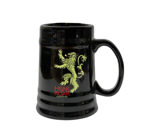 Game of Thrones Black Ceramic Mug - Lannister