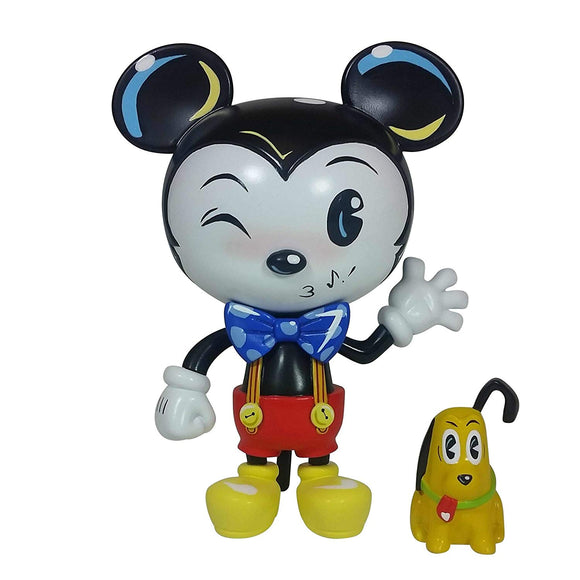 Enesco World of Miss Mindy Presents Disney Designer Collection Mickey Mouse Vinyl Figurine, 7