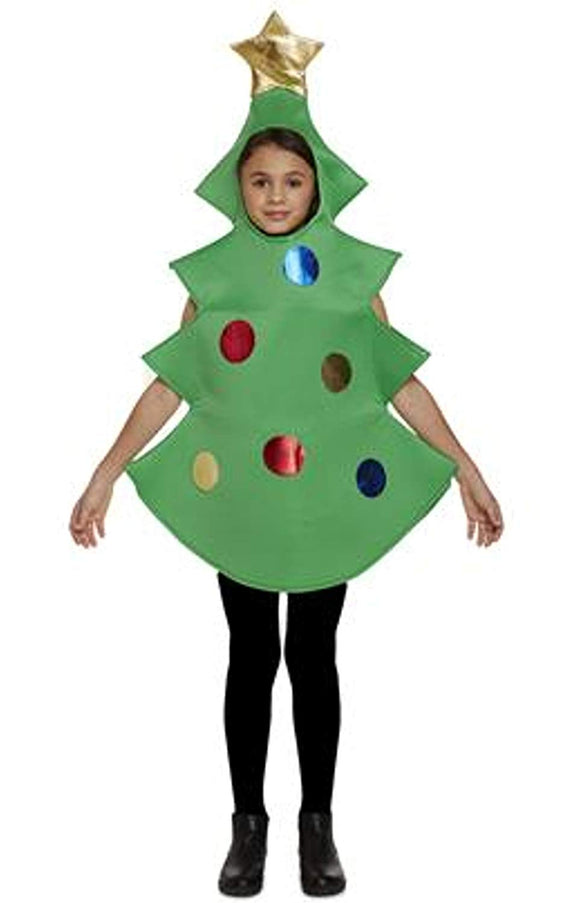 Henbrandt Child Christmas Tree Fancy Dress Costume Age 7-9 Years