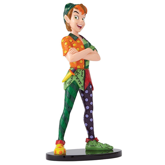 Enesco Disney by Britto Peter Pan Stone Resin Figurine