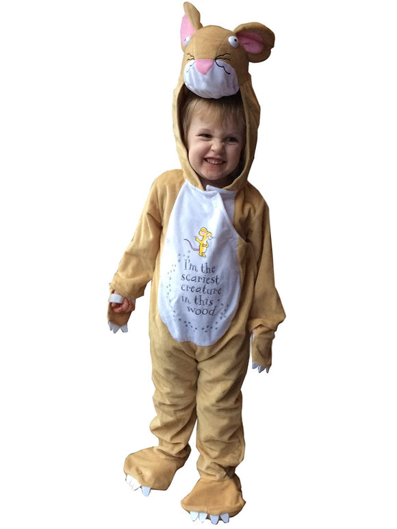 VMC Gruffalo Big Bad Mouse Childrens Costume Age 3-5 Years World Book Day