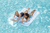H2OGO! Double Beach Bed Inflatable Pool Float