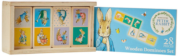 Peter Rabbit 28 Wooden Dominoes