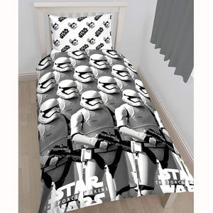 Single Star Wars Episode VII Stormtroopers Duvet Cover Set