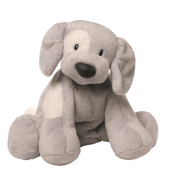Gund Baby Spunky Dog Stuffed Animal, Gray