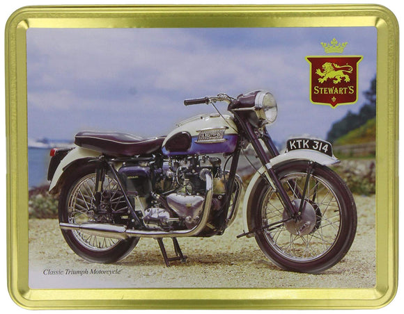 Stewart's Classic Triumph Motorcycle Tin 400 g