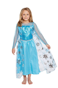 Henbrandt Ice Queen Girls Costume Age 7-8