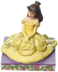Jim Shore Disney Traditions Beauty and The Beast Be Kind Belle Figurine 4050410