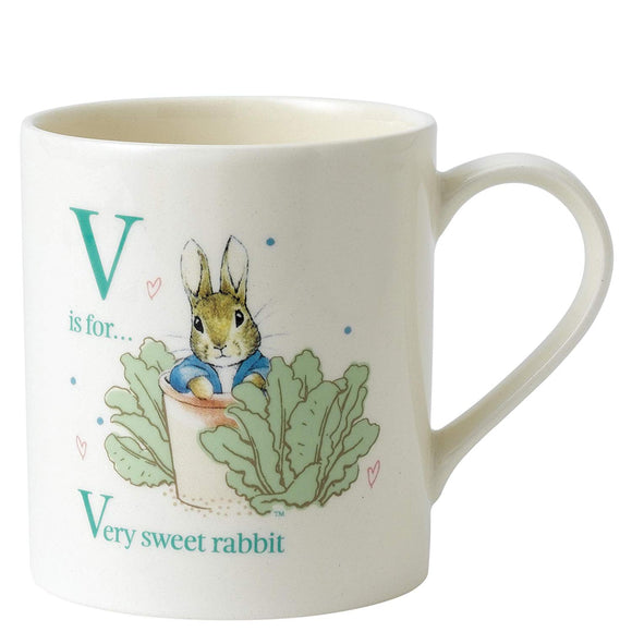 Beatrix Potter V - Peter in Plant Pot Porcelain Mug