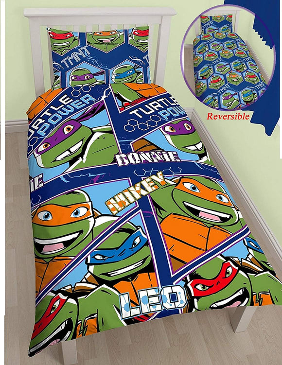Teenage Mutant Ninja Turtles Official Dimension Reversible Single Duvet