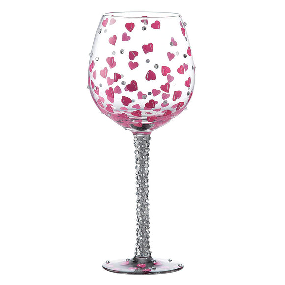 Superbling Pretty Girl Extra Large Wine Glass