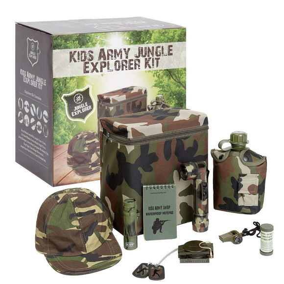 Kids Army Jungle Explorer Kit