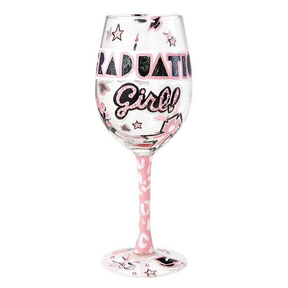 Lolita from Enesco It's My Day Wine Glass, 9