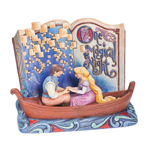Jim Shore Disney One Magical Night Storybook Tangled Hand Painted 4043625 Rapunzel