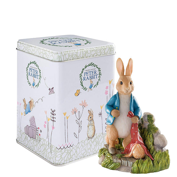 Beatrix Potter Peter Rabbit in Garden 2017 Anniversary Figurine