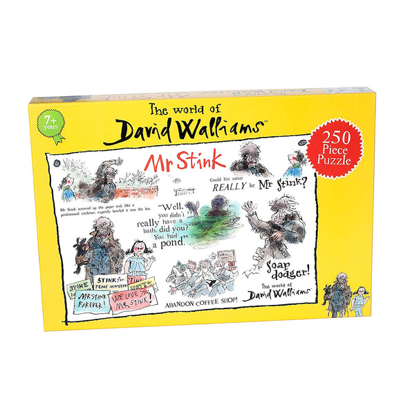 David Walliams - Mr Stink 250 piece Puzzle