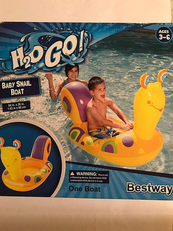 Bestway Baby Happy Snail Pool Float
