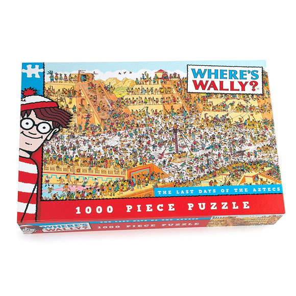 Where's Wally - The Last Day of the Aztecs - 1000 piece puzzle