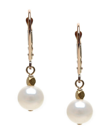 MEDIUM POTATO PEARL WITH FACETED BEAD ACCENT