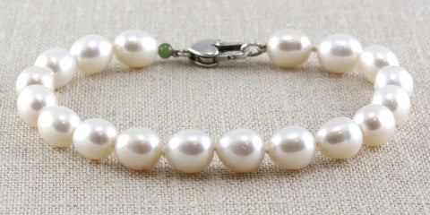 Classic Rice Pearl Bracelet