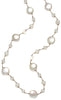 COIN PEARL FLOATING NECKLACE-16