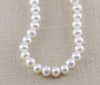 MEDIUM POTATO PEARL WITH HIGH LUSTER NECKLACE