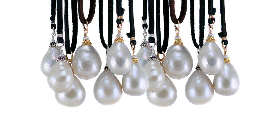 http://wasabijewelry.com/collections/fashion-pearls/products/baroque-pearl-on-deerskin
