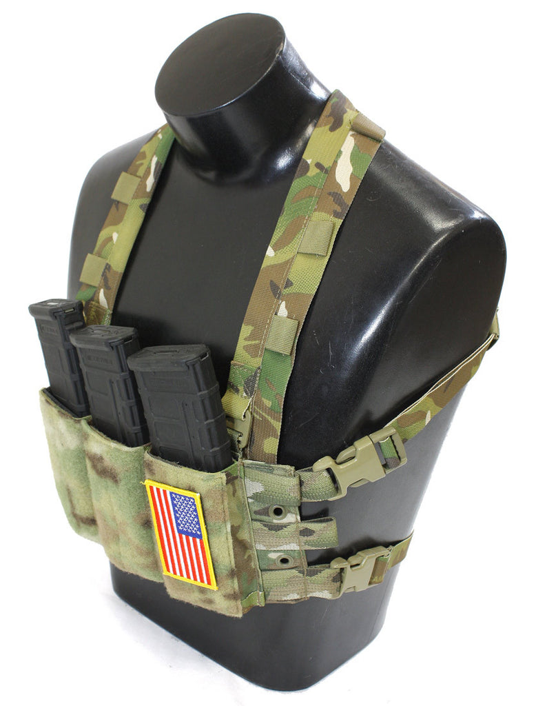 Direct attach to your BRIG or wear as a Mini Chest rig.