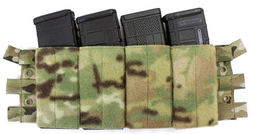 Four mags that direct attach to your Brig or Systema. Go from Covert to Hard Knock in seconds.
