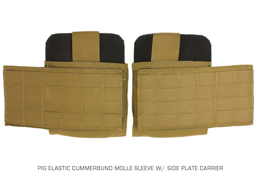Keep the all elastic cummerbund and add side plates and molle for even more options.