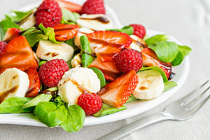 Raspberry Balsamic & Roasted Almond Vinaigrette