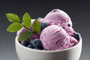 Blueberry Lemon Olive Oil Gelato