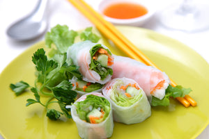 Fresh Shrimp Salad Rolls
