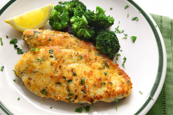Lemon Almond-Crusted Chicken