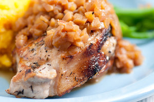 Pork Chops with Maple Apple Jus