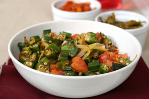 Stewed Okra and Tomato