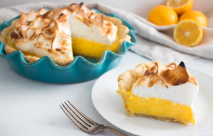 Lemon Meringue Pie with Olive Oil Crust