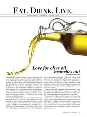 Love for Olive Oil, indeed!