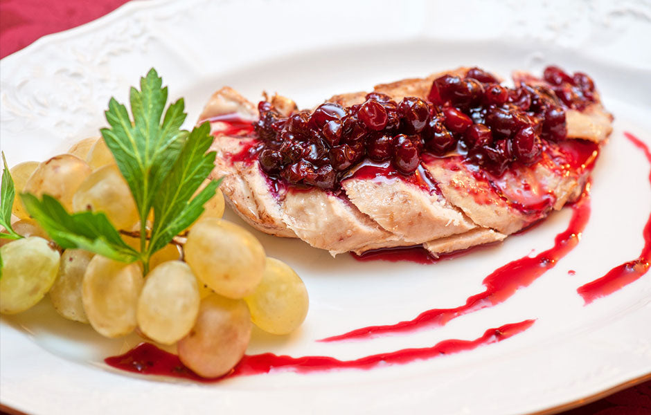 Cranberry Chicken With Shallots