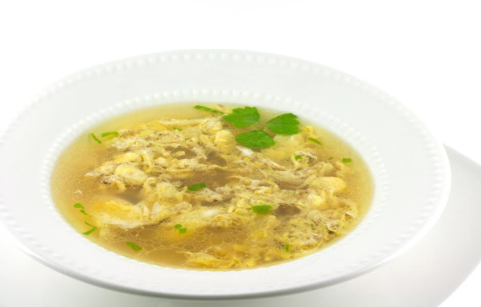 Asian Chicken & Egg Drop Soup