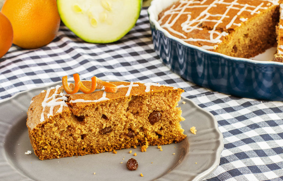 Orange Ginger Zucchini Bread